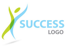 Success logo Stock Photography