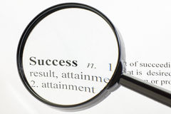 Success Magnified Stock Images