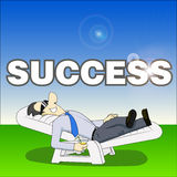 Success man Royalty Free Stock Photo