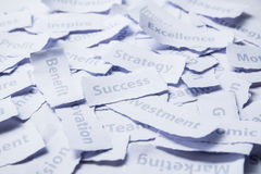 Success, Marketing concept word. Stock Photo