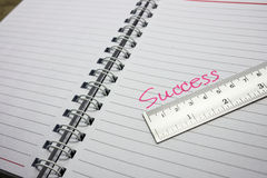 Success measure Royalty Free Stock Photo
