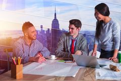 Success and meeting concept stock images