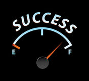 Success meter Royalty Free Stock Image