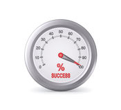 Success Meter Indicate Maximum Royalty Free Stock Photo