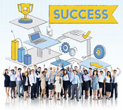 Success Mission Process Goal Planning Concept Stock Photography