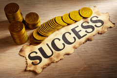Success and money Royalty Free Stock Photo