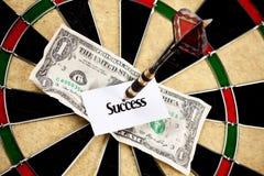 Success and Money arrow Royalty Free Stock Photo