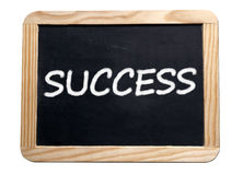 Success motivation board Royalty Free Stock Photos