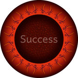 Success motivation board Stock Image