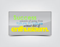 Success Motivational Background Royalty Free Stock Photos