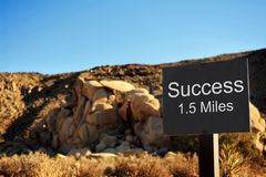 Success is near Stock Photography