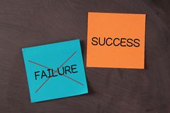 Success, No Failure Stock Photos