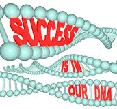 Success is in Our DNA Stock Photos