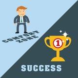 Success people cartoon design Stock Photos