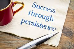 Success through persistence Royalty Free Stock Photography