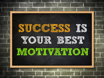 Success quote Royalty Free Stock Image