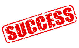 Success red stamp text Stock Photo