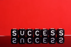 Success red Royalty Free Stock Image