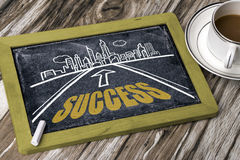 Success road Stock Image