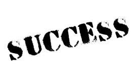 Success rubber stamp Stock Photos