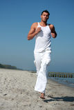 Success run. Running for business success in freetime royalty free stock photos
