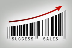 Success sales Royalty Free Stock Image