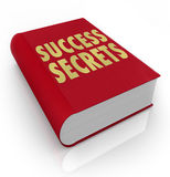 Success Secrets Book Instructions Manual Advice Stock Image