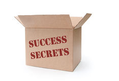 Success secrets Royalty Free Stock Images