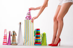 Success shopping. Royalty Free Stock Image