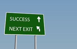 Success sign Stock Photo