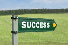Success Sign Stock Image