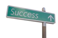 Success Sign Royalty Free Stock Photos