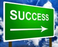 Success sign Royalty Free Stock Photos