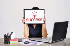 Success sign Stock Photos
