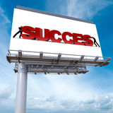 Success sign Stock Photography