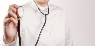 Success smart medical doctor. Working Royalty Free Stock Photos