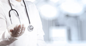 Success smart medical doctor working Stock Photos