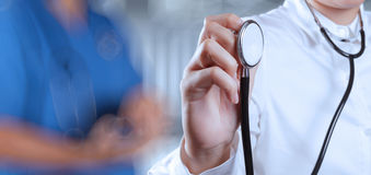Success smart medical doctor working Royalty Free Stock Photo