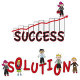 Success solution Royalty Free Stock Image