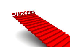 Success steps Royalty Free Stock Photo
