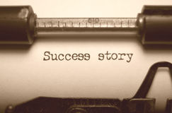 Success story stock photo