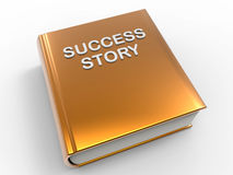 Success story book Royalty Free Stock Photos