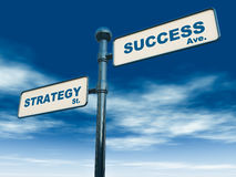 Success strategy Stock Images