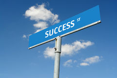 Success street Royalty Free Stock Photography