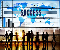 Success Successful Achievement Goal Growth Concept Royalty Free Stock Photo
