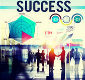 Success Successful Goal Achievement Complete Concept Stock Photos