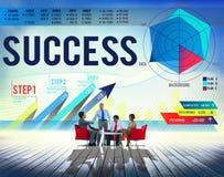 Success Successful Goal Achievement Complete Concept Stock Photography