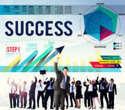 Success Successful Goal Achievement Complete Concept Royalty Free Stock Images