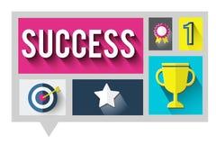 Success Successful Goal Achievement Complete Concept Royalty Free Stock Photos