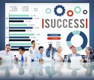 Success Successful Goal Achievement Complete Concept Stock Images